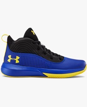 Zapatillas de baloncesto Grade School UA Lockdown 4